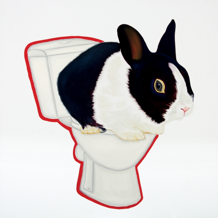 kamagurka -  constipated rabbit