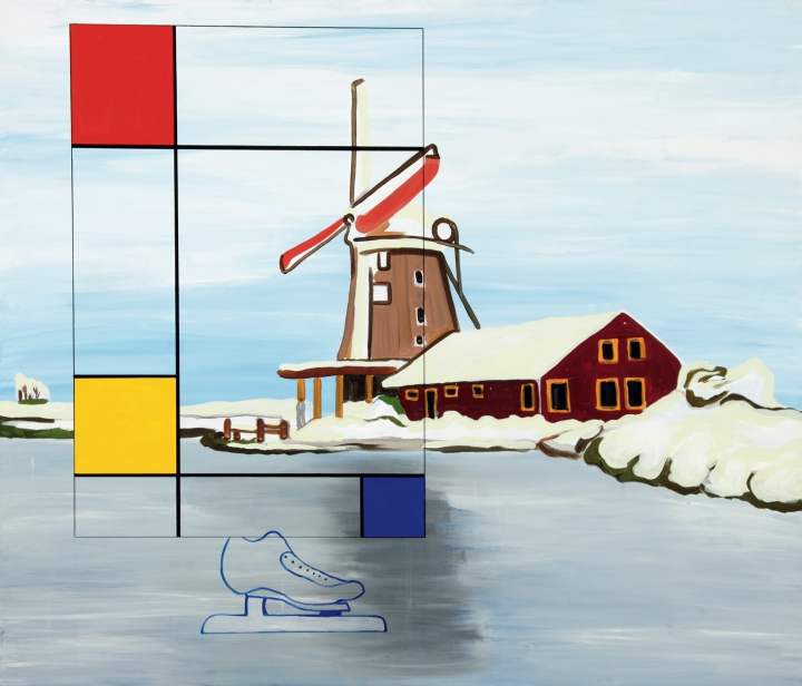 kamagurka -  mondriaan on ice