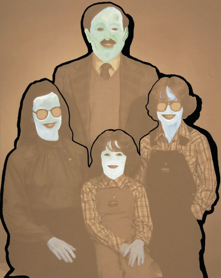 kamagurka -  happy family