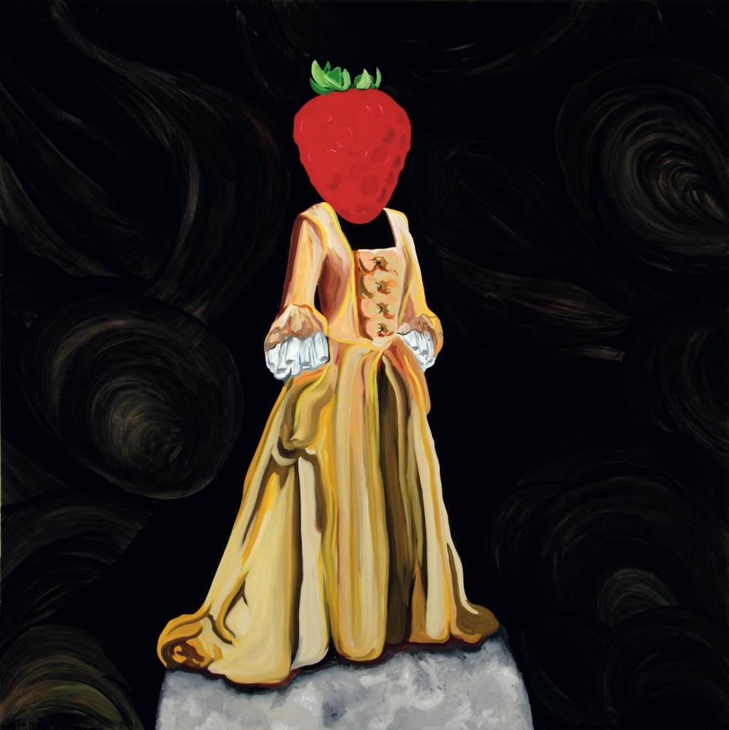 kamagurka -  queen elizabeth the strawberry