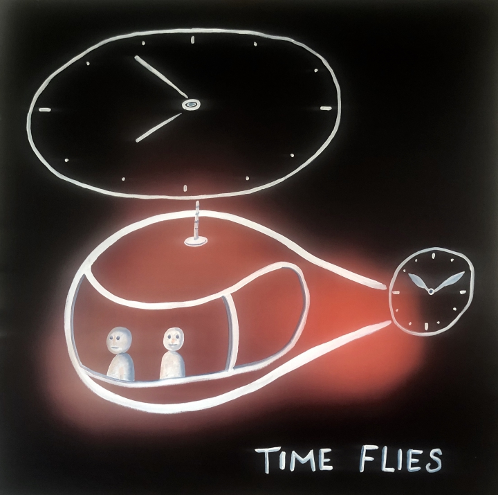 kamagurka -  Time flies